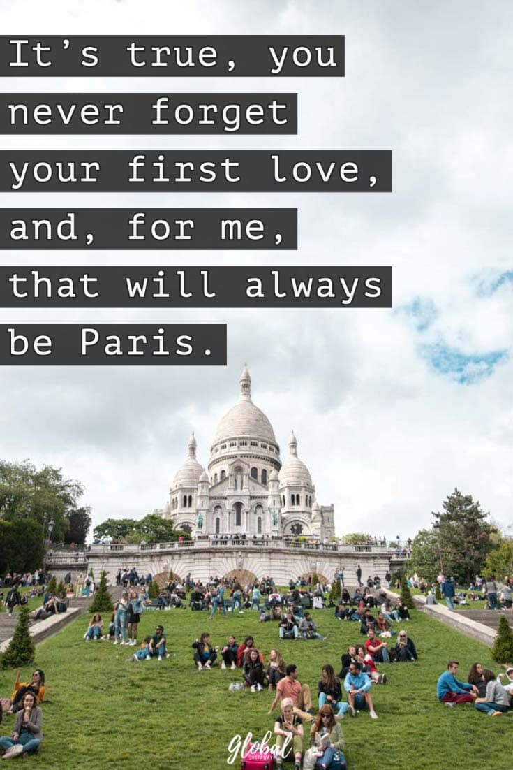 first-love-paris-quoted-on-a-famous-church-background-