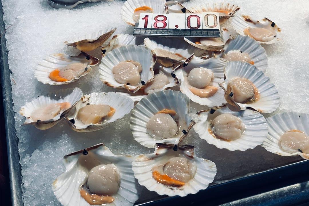 expensive-scallops-in-rialto-market