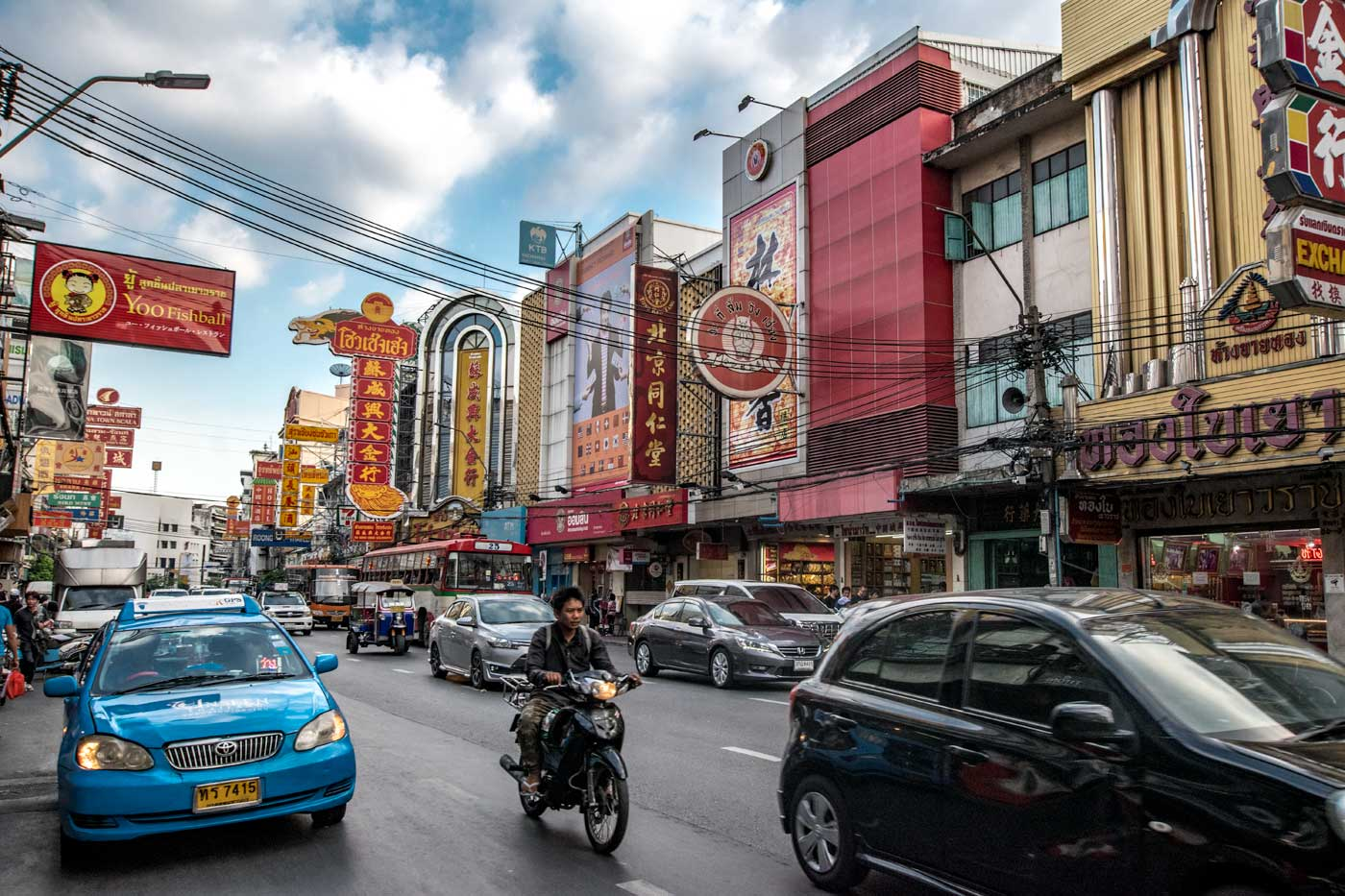 bangkok facts - china town