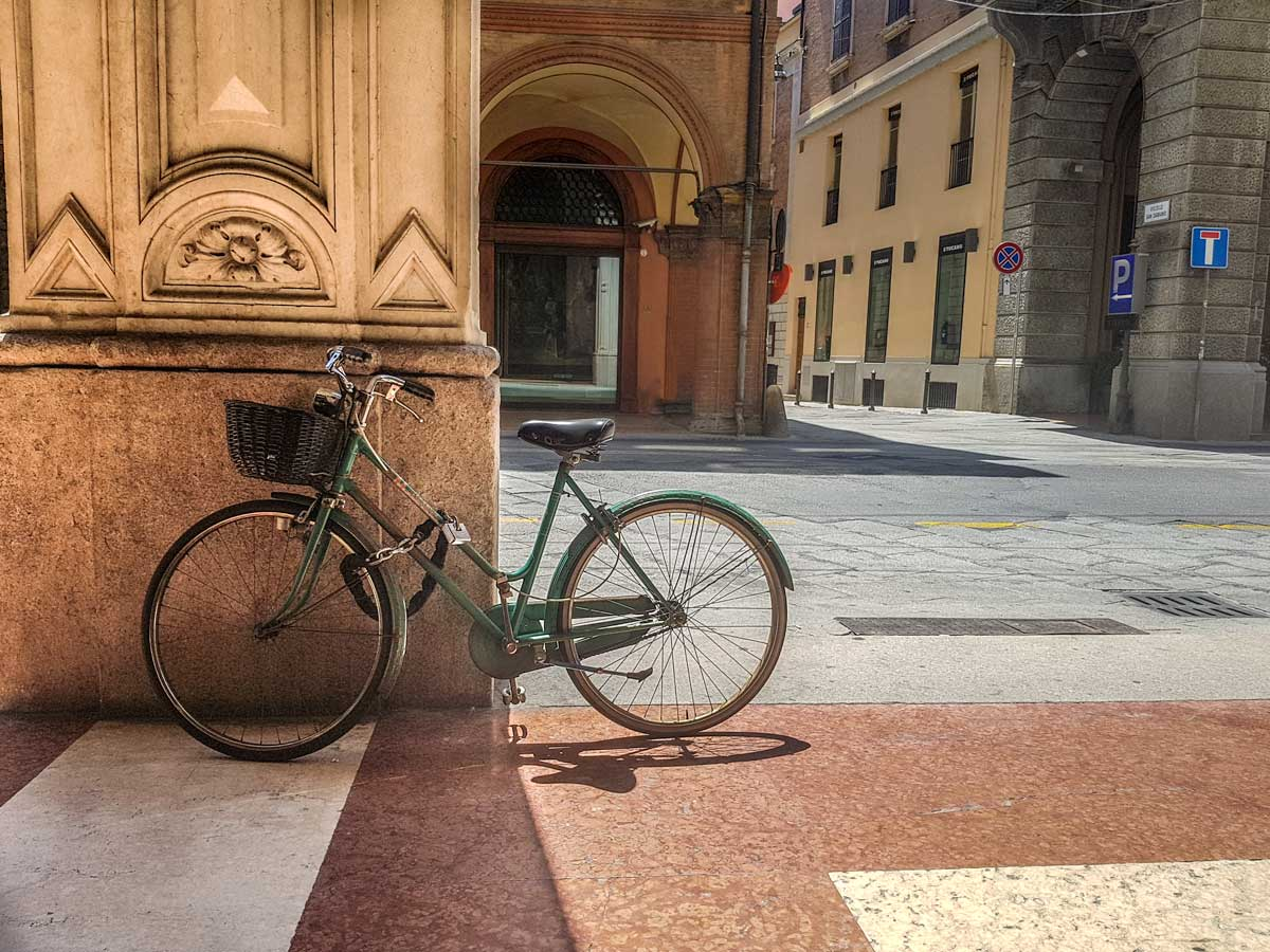 bike in bologna