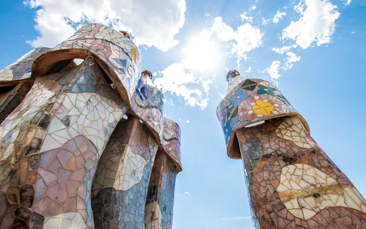 Interesting Barcelona facts -Casa Batllo roof