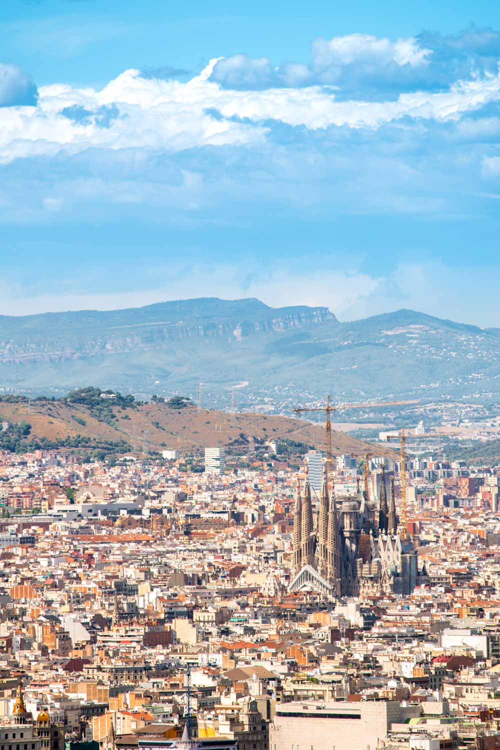 panorama in Barcelona