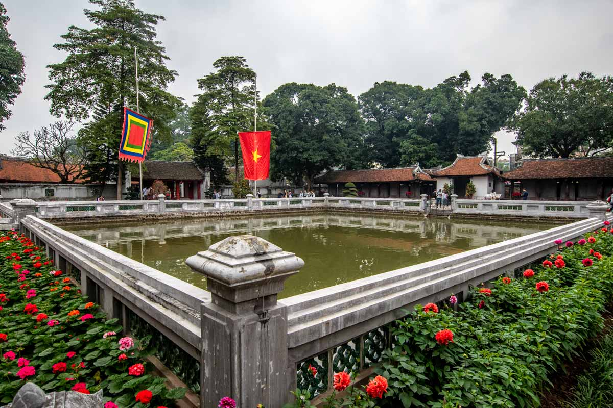 Hanoi facts - Temple of Literature