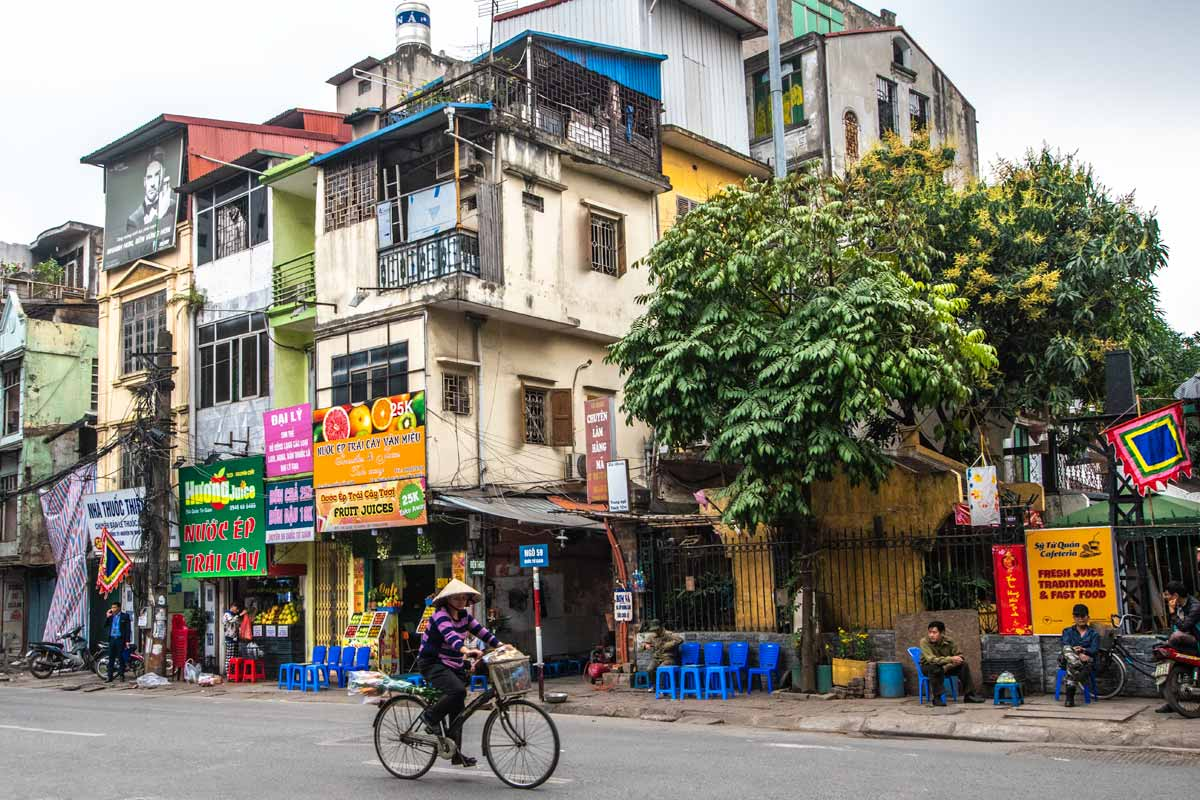 Hanoi photos - lovely street