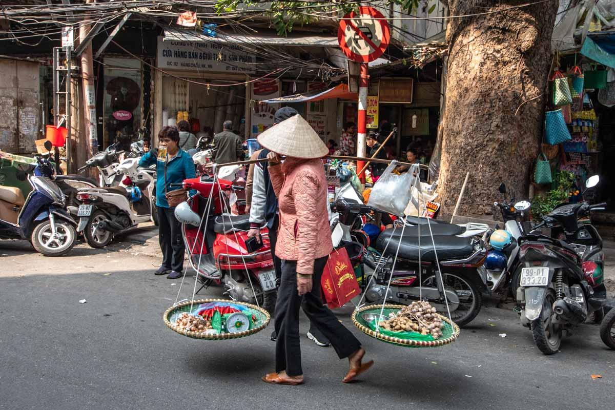 Hanoi facts - Hanoi street