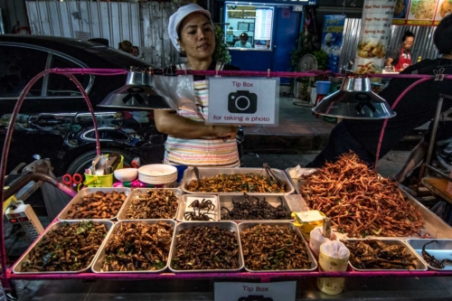 bangkok facts - adventure food
