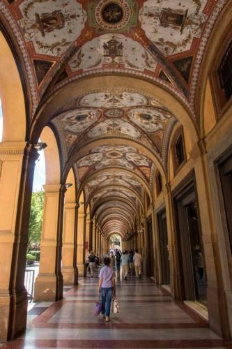 bologna sidewalks