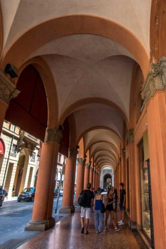 bologna street life