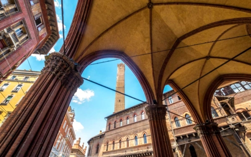 the colorful city of Bologna