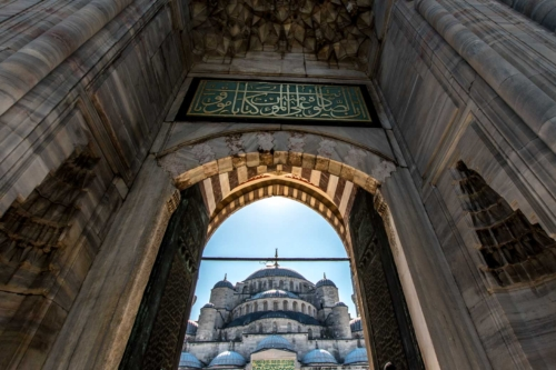 turkey-gallery---blue-mosque-door